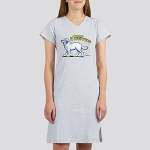 Great Pyrenees Hairifying Women's Nightshirt