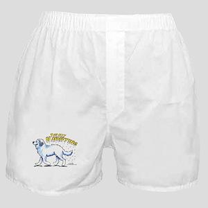 Great Pyrenees Hairifying Boxer Shorts