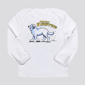 Great Pyrenees Hairifying Long Sleeve Infant T-Shi
