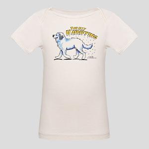 Great Pyrenees Hairifying Organic Baby T-Shirt