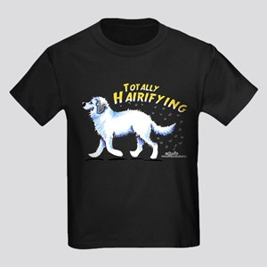 Great Pyrenees Hairifying Kids Dark T-Shirt