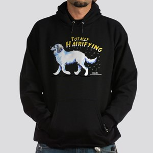 Great Pyrenees Hairifying Hoodie (dark)