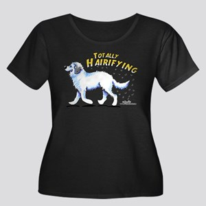 Great Pyrenees Hairifying Women's Plus Size Scoop