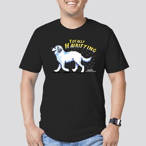 Great Pyrenees Hairifying Men's Fitted T-Shirt (da