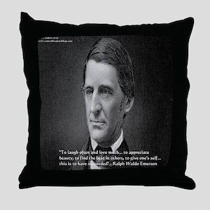 Ralph Waldo Emerson Wisdom/Success Quote Gifts Thr