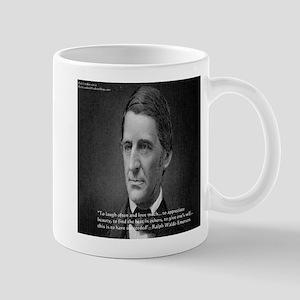 Ralph Waldo Emerson Wisdom/Success Quote Gifts Mug