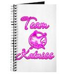 Team Katniss (pink) Journal