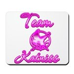 Team Katniss (pink) Mousepad