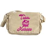 Team Katniss (pink) Messenger Bag