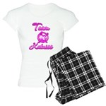 Team Katniss (pink) Women's Light Pajamas