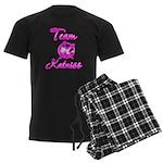 Team Katniss (pink) Men's Dark Pajamas