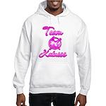 Team Katniss (pink) Hooded Sweatshirt