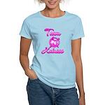 Team Katniss (pink) Women's Light T-Shirt