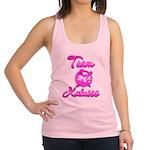 Team Katniss (pink) Racerback Tank Top