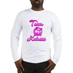Team Katniss (pink) Long Sleeve T-Shirt