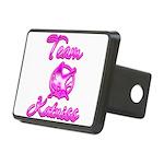 Team Katniss (pink) Rectangular Hitch Cover