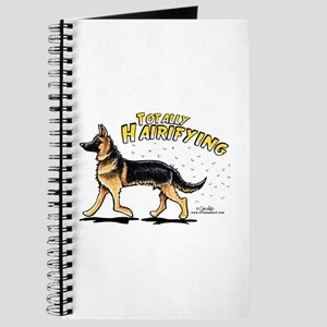 German Shepherd Hairifying Journal