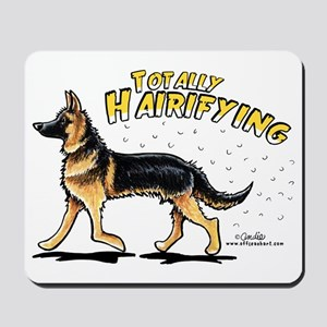 German Shepherd Hairifying Mousepad