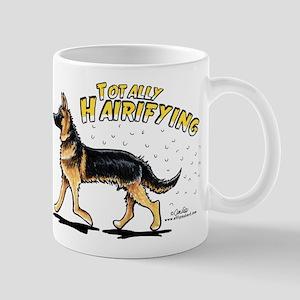 German Shepherd Hairifying Mug