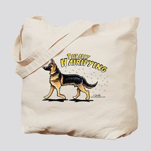 German Shepherd Hairifying Tote Bag