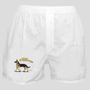 German Shepherd Hairifying Boxer Shorts