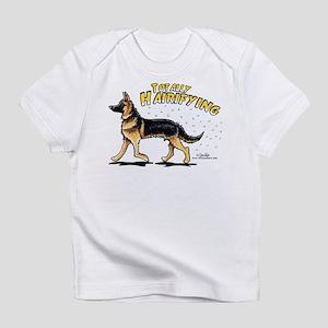 German Shepherd Hairifying Infant T-Shirt