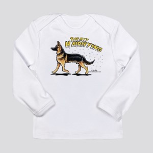 German Shepherd Hairifying Long Sleeve Infant T-Sh