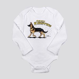 German Shepherd Hairifying Long Sleeve Infant Body