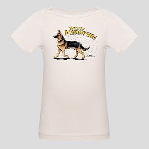 German Shepherd Hairifying Organic Baby T-Shirt