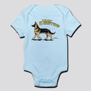 German Shepherd Hairifying Infant Bodysuit