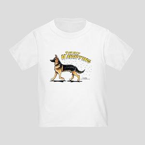 German Shepherd Hairifying Toddler T-Shirt