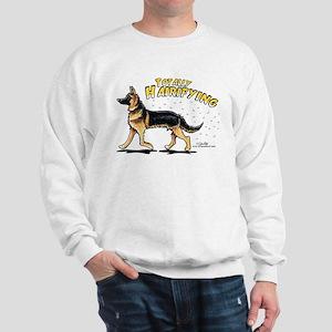 German Shepherd Hairifying Sweatshirt