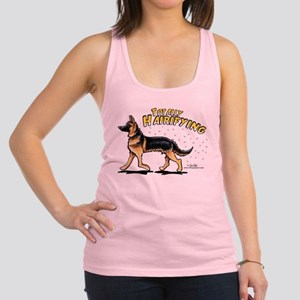 German Shepherd Hairifying Racerback Tank Top