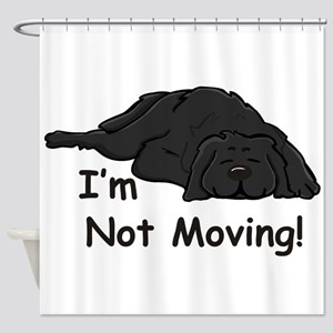 Newfie Carpet Shower Curtain