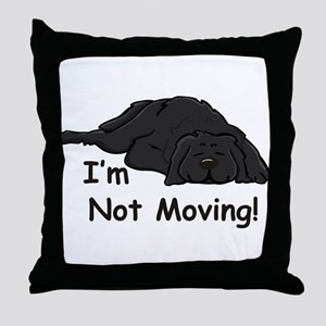 Newfie Carpet Throw Pillow