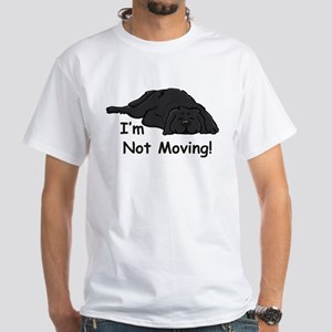 Newfie Carpet White T-Shirt