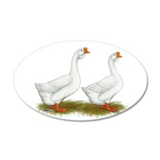 White African Geese Wall Decal