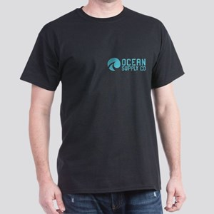 Ocean Supply Co. Logo Dark T-Shirt