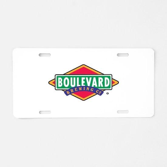 Cute Brew Aluminum License Plate