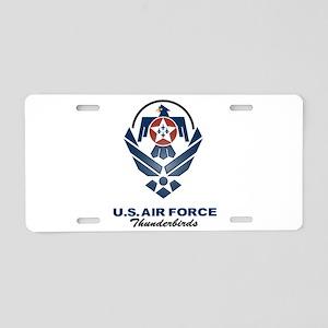 USAF Thunderbird Aluminum License Plate