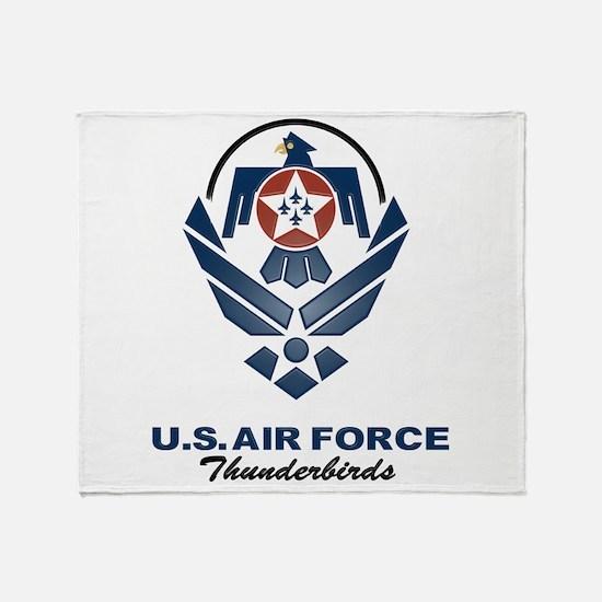 USAF Thunderbird Throw Blanket