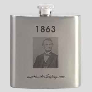 Timeline 1863 Flask