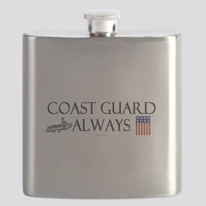Coast Guard Always Flask