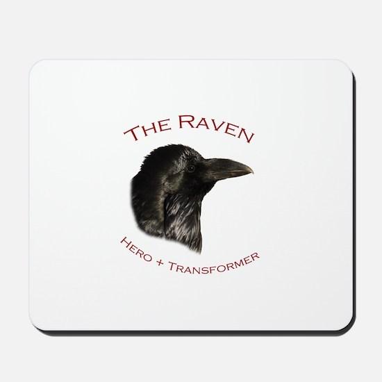 The Raven Mousepad