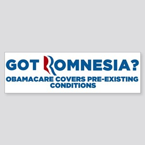 Got Romnesia Sticker (Bumper)
