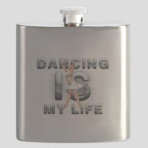 Dance is My Life Flask