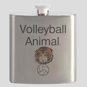 Volleyball Animal Flask