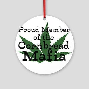Cornbread Mafia Ornament (Round)