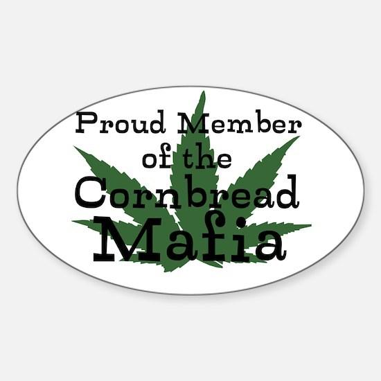 Cornbread Mafia Sticker (Oval)