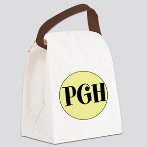 PGH, Pittsburgh, PA, Canvas Lunch Bag
